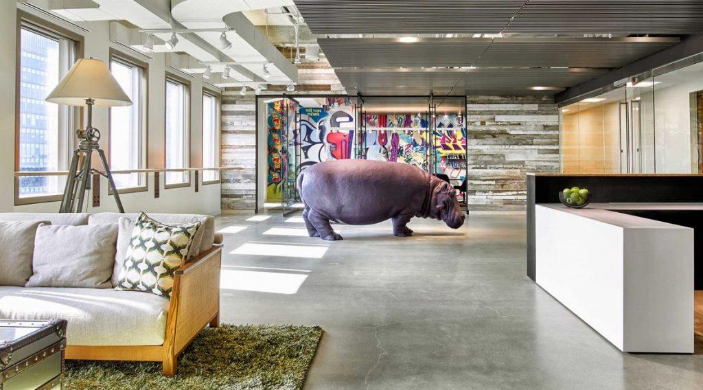 Креативный необычный офис
