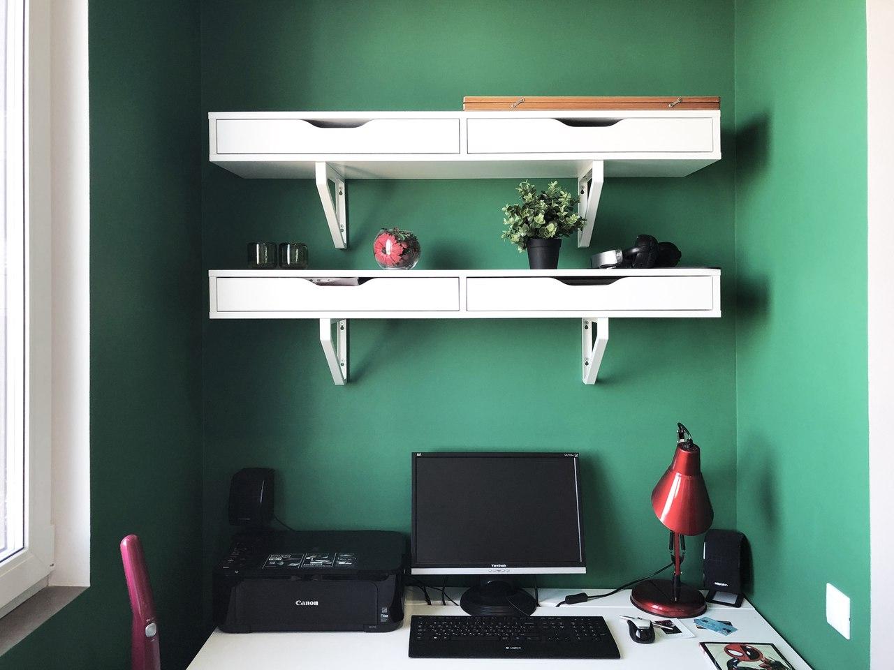 Организация рабочей зоны в спальне