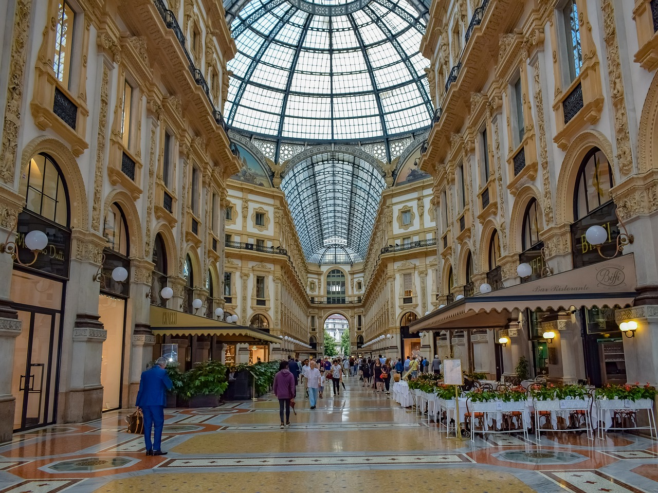 блошиные рынки Италии