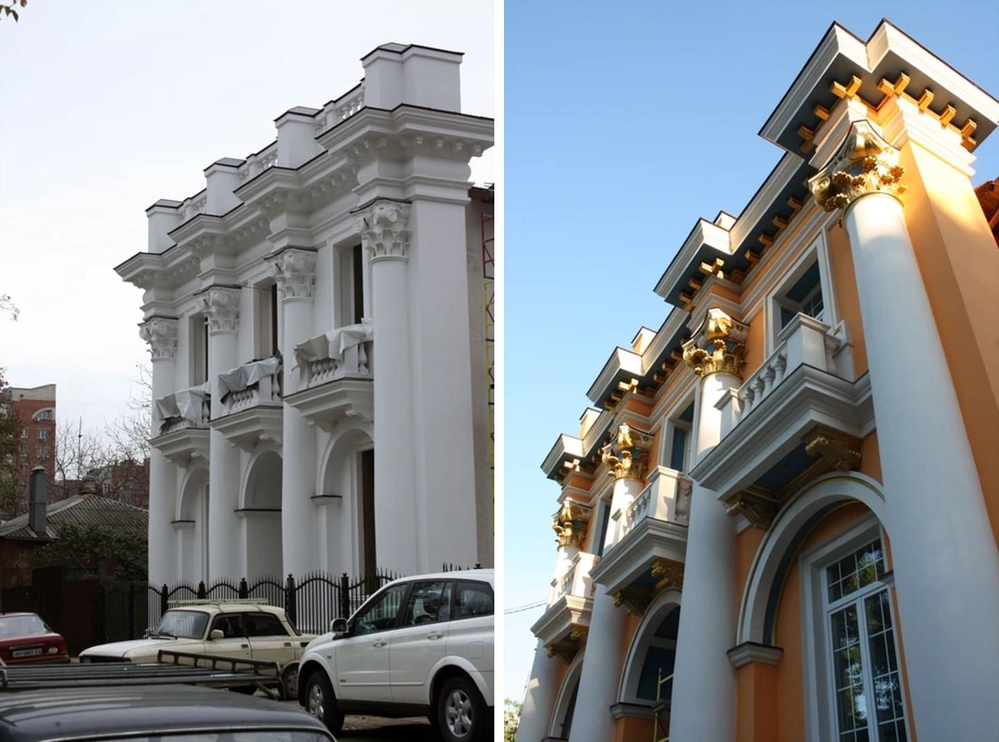 Городской особняк Ростовского предпринимателя С. Гайдука