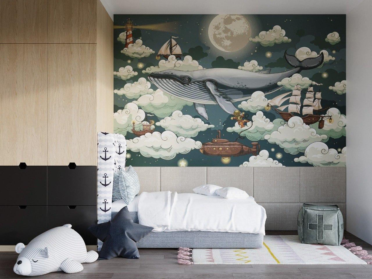 Детская спальня в морском стиле