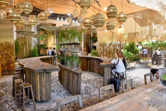 Экостиль в интерьере ресторанов и кафе HoReCa