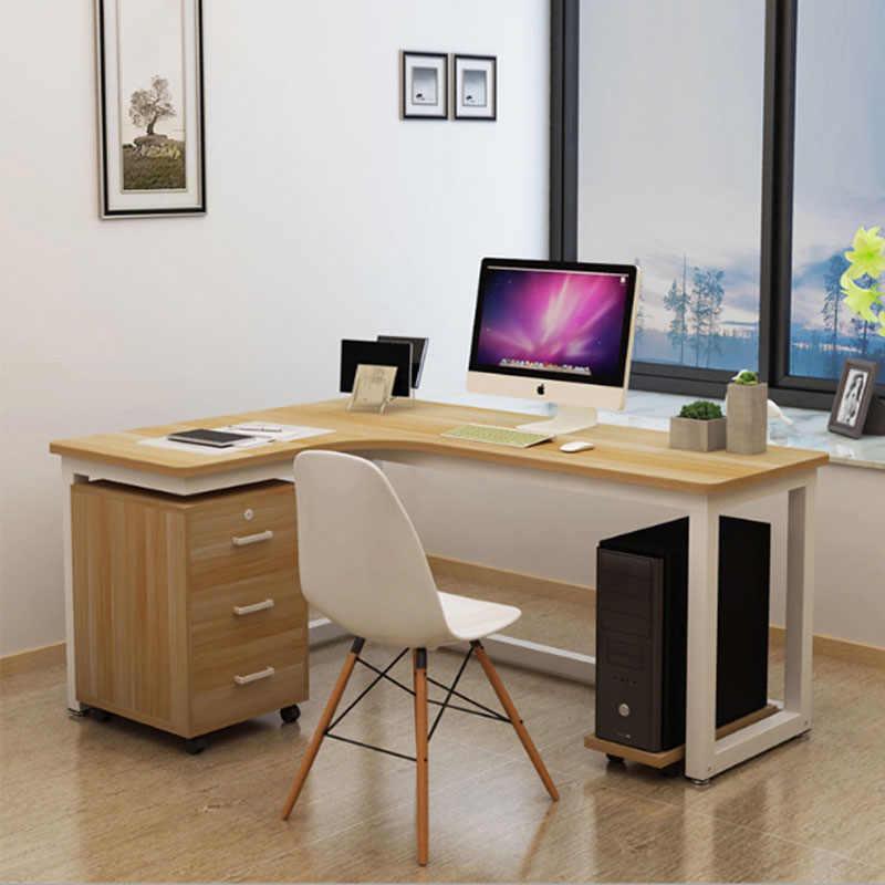Угловой стол. Дизайн интерьера