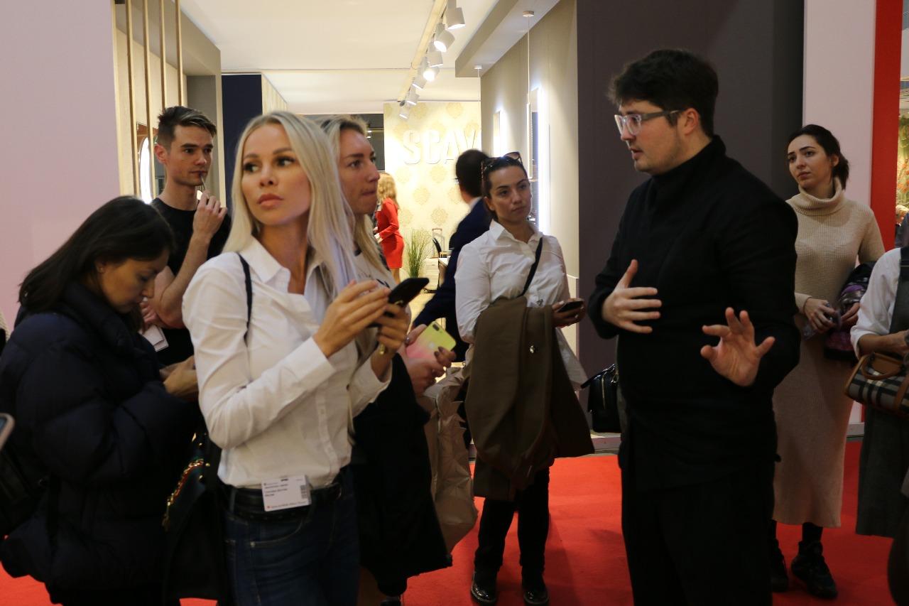 Виктор Дембовский Salone del Mobile.Milano Moscow
