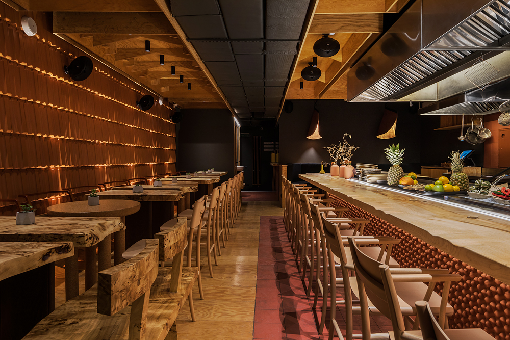 HACHIKO Japanese Bar & Kitche от Бюро ARCHPOINT