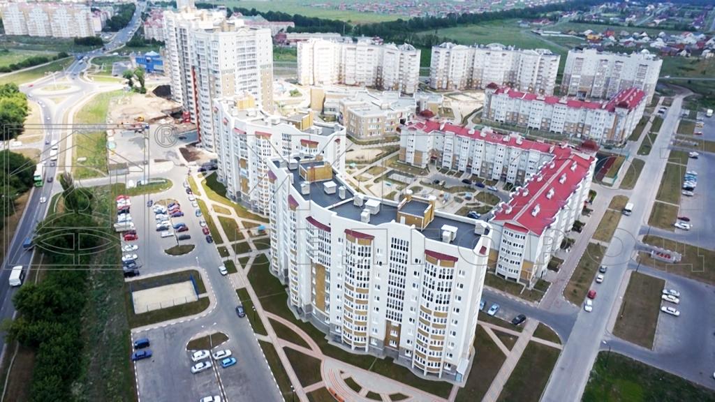 Проект компании ЖБК-1. Микрорайон Заря