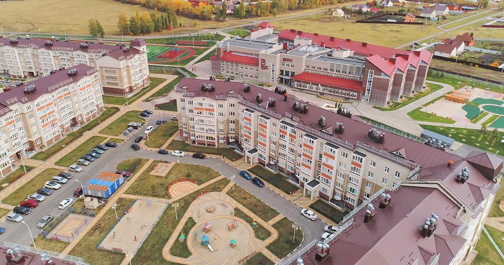 Проект компании ЖБК-1. Микрорайон Новая заря