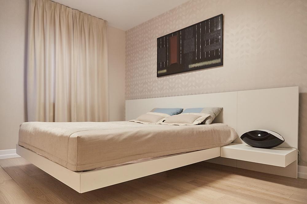 Спальня шале стиль минимал