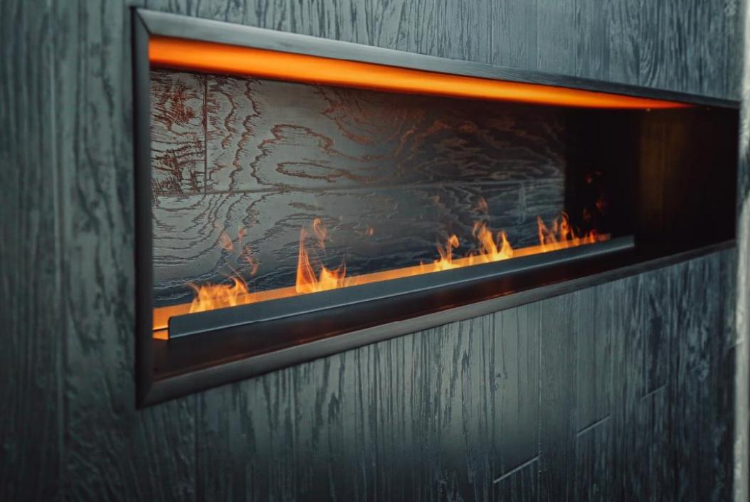 Дизайн интерьера кальянной Dark Haze на Красной Пресне