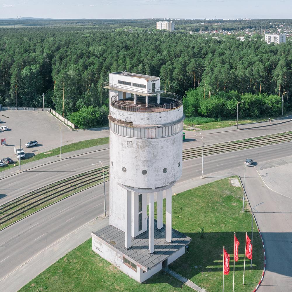 Белая башня – водонапорная башня соцгорода
