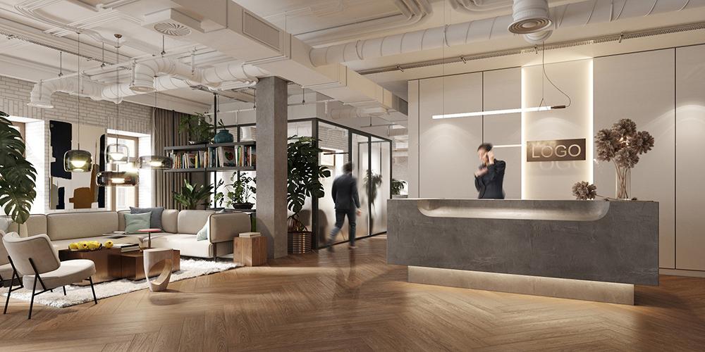 Как будут выглядеть новые сервисные офисы Space 1 в центре Москвы