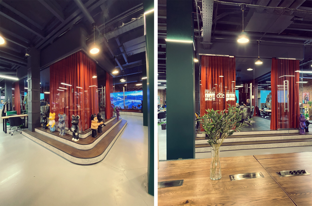Дизайн офиса на Трехгорке Трансформатор