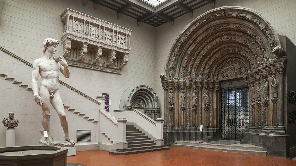 Итальянский дворик Пушкинский музей