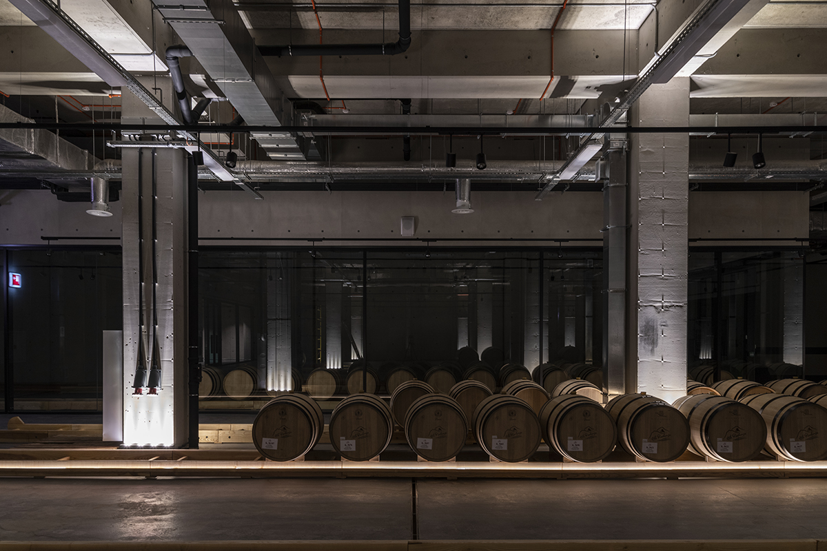 Хозяйственные помещения винодельни Côte Rocheuse