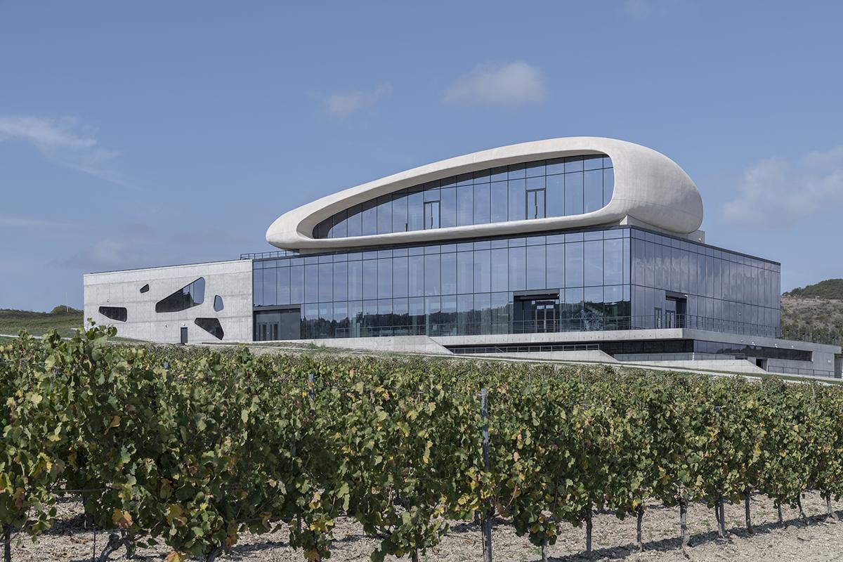 Архитектурный проект Винодельня Côte Rocheuse