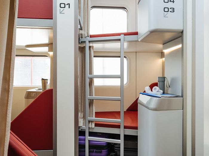 Федеральная пассажирская компания представила концепт капсульного вагона (2)