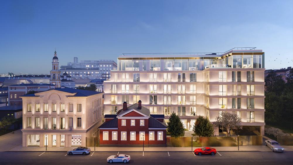 iorgio Armani и российская девелоперская компания Vos'hod объявляют о совместной работе над жилым комплексом в Москве