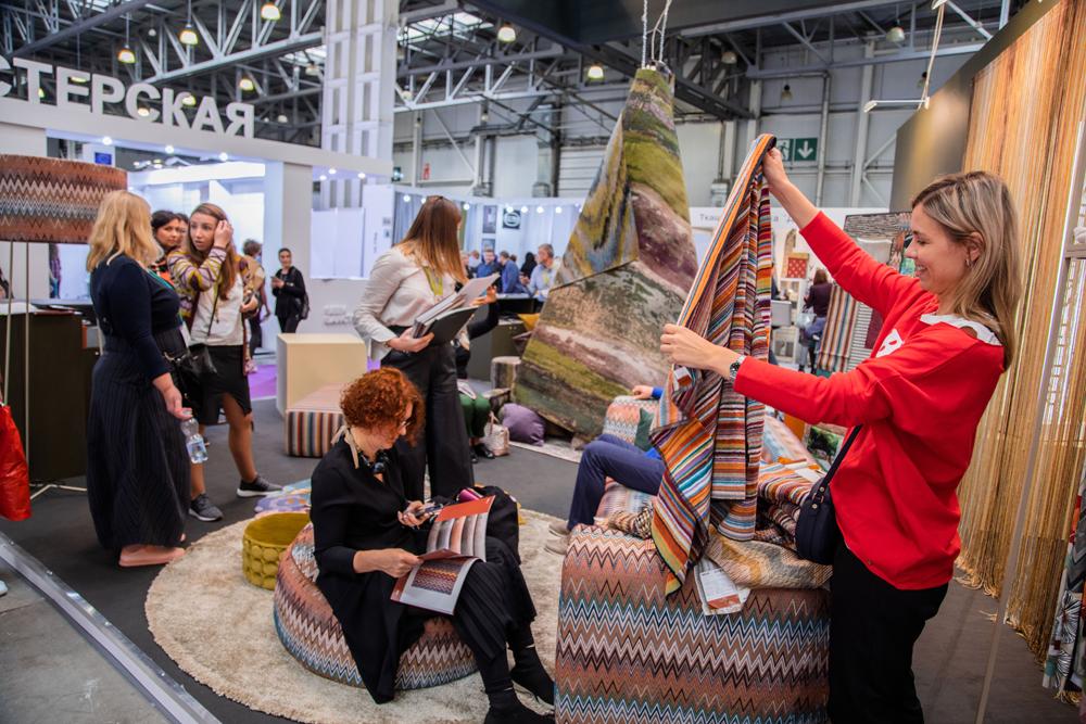Крупнейшая в России выставка интерьерных тканей Heimtextil Russia